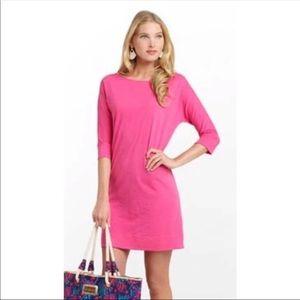 Lilly Pulitzer Pink Cassie T-Shirt Dress